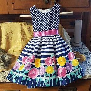 Size S toddler floral dress
